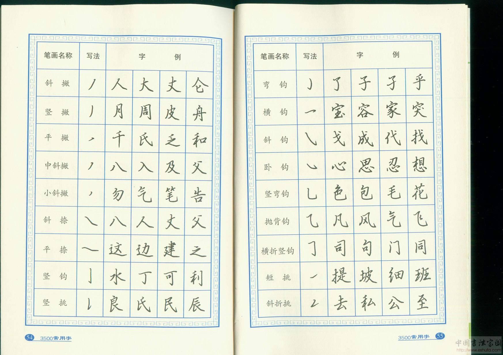 惠松近新推出6本系列钢笔字帖