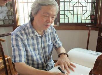 专访书法家乐泉:有一个朋友说我越写越差了